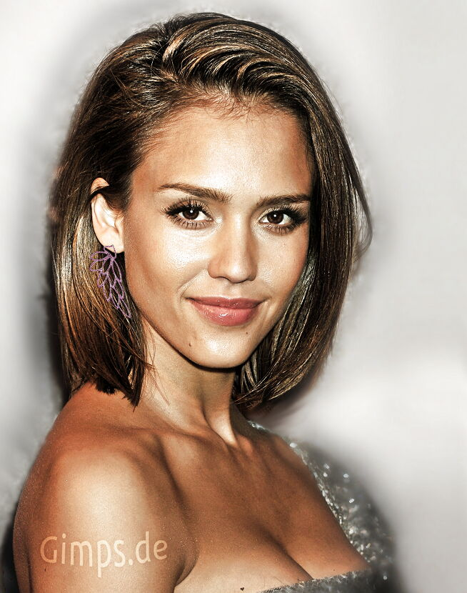 Excellent Pictures Of Photos Short Haircuts Surprise Jessica Alba Short Hairstyles Gunalazisus