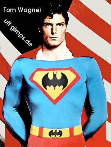 Schilder und zeichen superman ist wie batman wenn er for Was macht man gegen kleine fliegen in der blumenerde